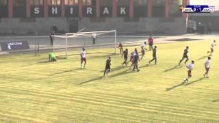 Shirak Gyumri vs Ararat Yerevan full match