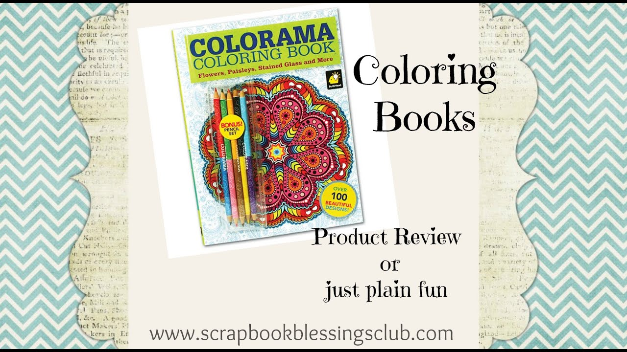 Colorama Coloring Books