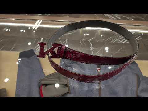 Мужской Total-look Kiton: пуховик (хит сезона), джемпер, рубашка, джинсы, ремень, сникеры, Review