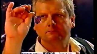 Keith Deller v Rod Harrington - R1 - 2002 World Darts Championships NEEDLE MATCH