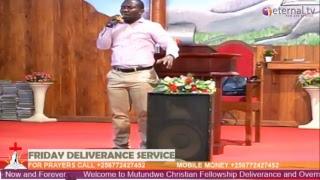 Friday Deliverance Service - Ps Tom Mugerwa (22-June-2018)