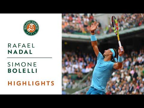 Rafael Nadal vs Simone Bolelli - Round 1 Highlights I Roland-Garros 2018