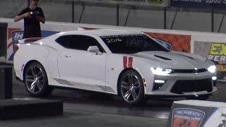 2016 camaro ss 8 speed auto 1 4 mile drag video road test tv
