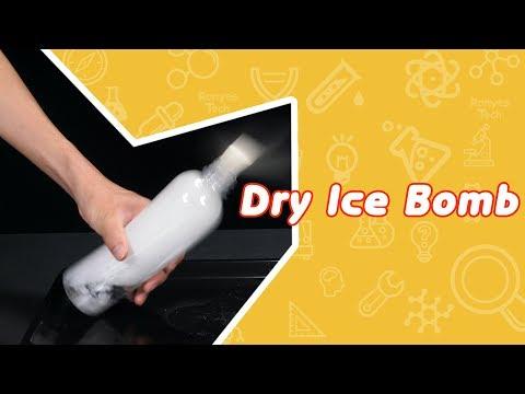Dry Ice Bomb - Dry Ice Experiments