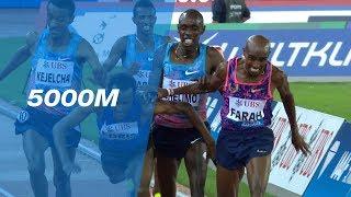 Mo Farah Wins His Last Race In An Epic 5000m Battle - IAAF Diamond League Zürich 2017