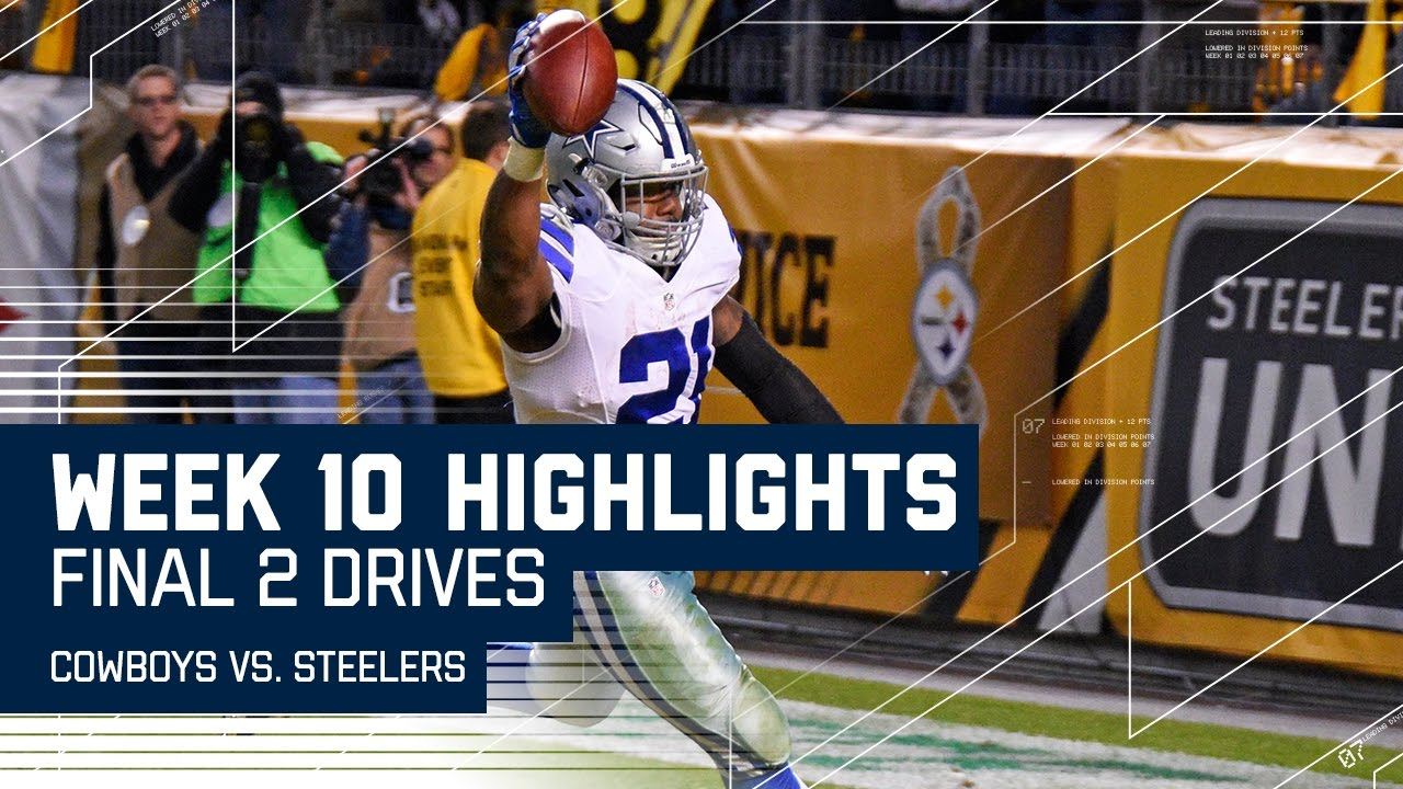 e957fb0c Every Play From the Cowboys vs. Steelers Final 2 Drives | Week 10 ...