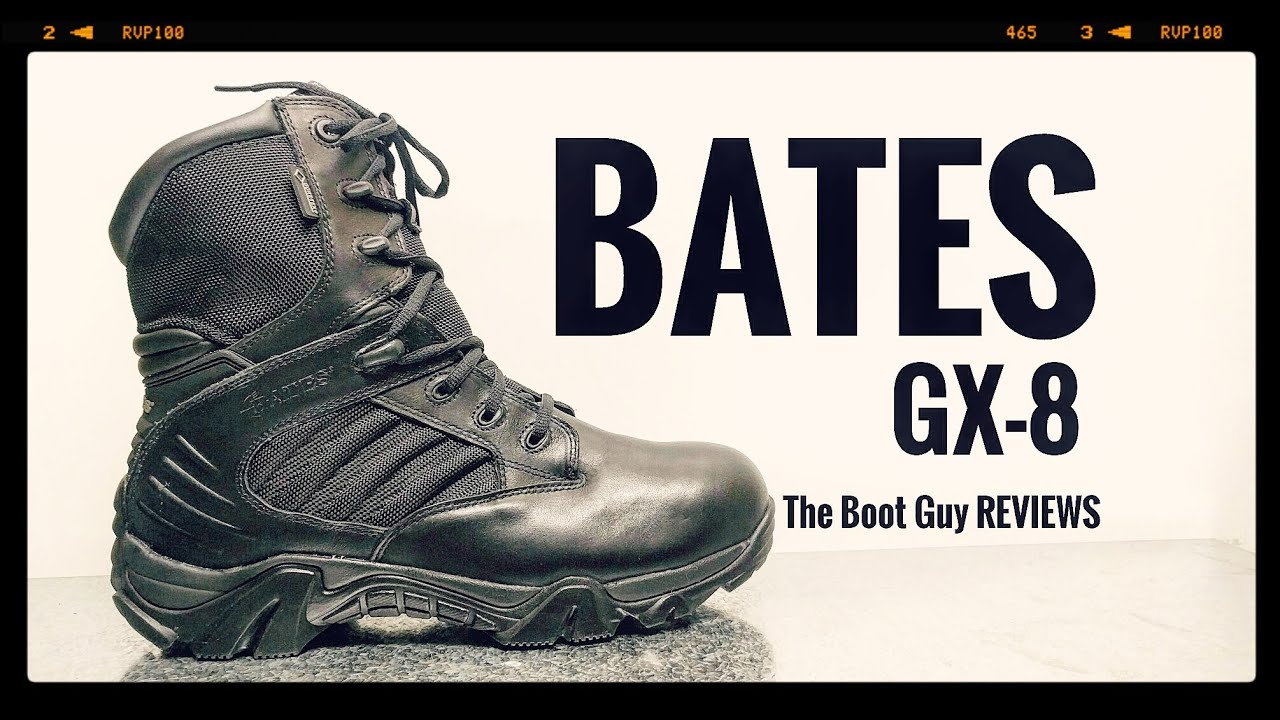 6e2c1ea88bc BATES (E02268) GX-8 SIDE ZIP BOOT WITH GORE-TEX [ The Boot Guy Review]