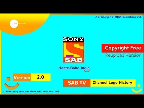 SONY SAB TV Channel Ident History (2000-Present) | Reupload Version | RBD Official 😊 #CopyrightFree thumbnail
