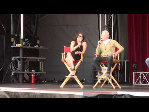 Marina Sirtis and Brent Spiner at PNE 1/3