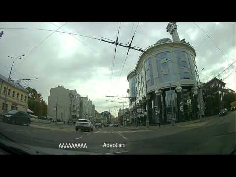 Дневная запись видеорегистратора AdvoCam-FD One