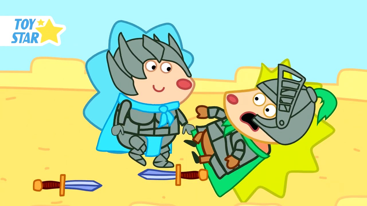 Thorny And Friends New cartoon for kids Funny episodes #128