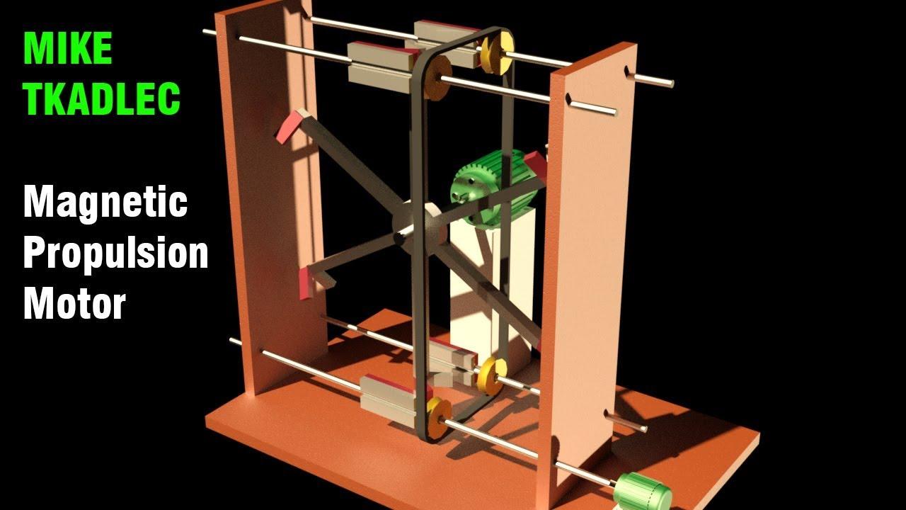 Free Energy, MIKE TKADLEC Magnetic Propulsion Motor