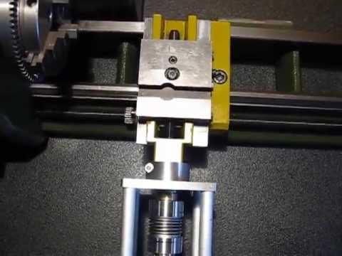 Pd230 cnc doovi for Mini tornio proxxon