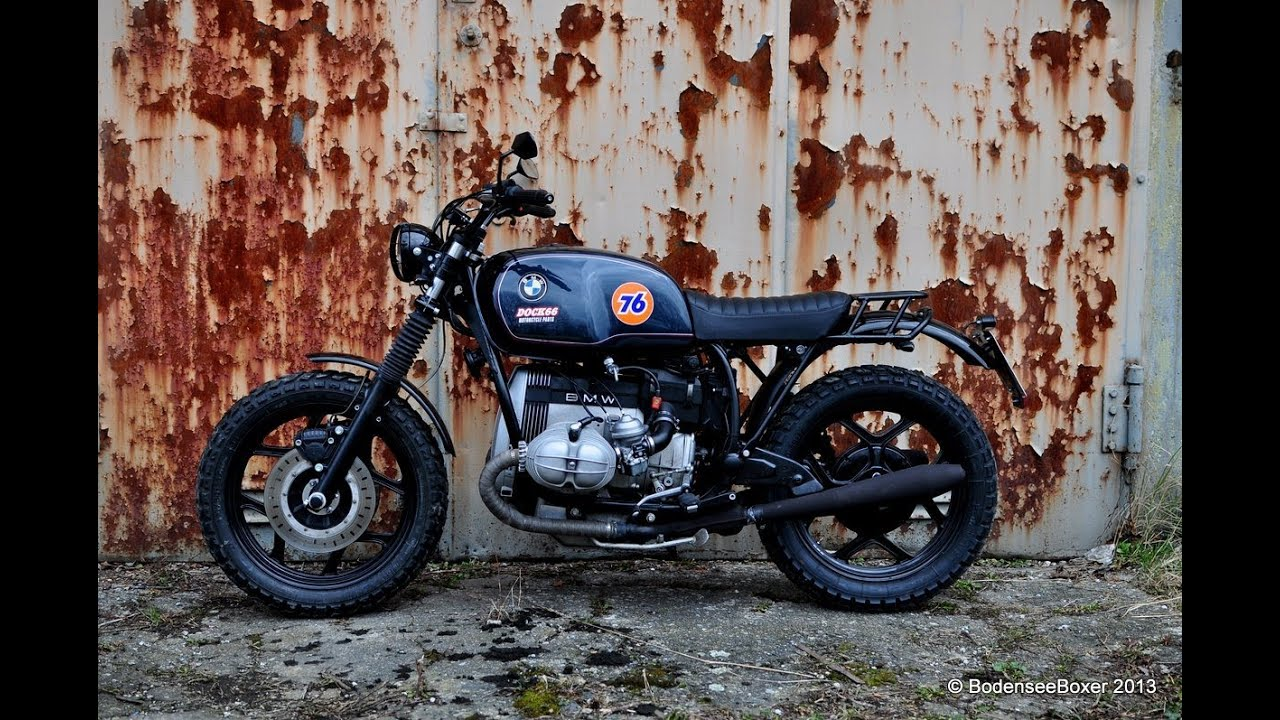 bmw r80 rt scrambler with r100 powerkit cafe racer custom. Black Bedroom Furniture Sets. Home Design Ideas