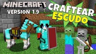 Minecraft 1.9: Como hacer el Escudo (Crafteo Actualizado)