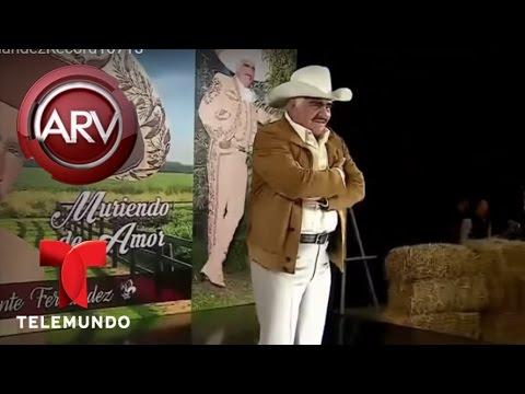 Vicente Fernández presenta su última producción discográfica | Al Rojo Vivo | Telemundo