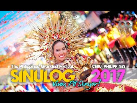 SINULOG FESTIVAL GRAND PARADE 2017. CEBU. PHILIPPINES LARGEST FESTIVAL