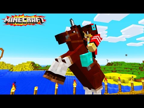 HikePlays MINECRAFT - Exploring Our World & Building! - Let's Play Minecraft