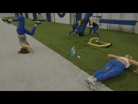 Indianapolis Colts Cheerleaders Football Mannequin Challenge