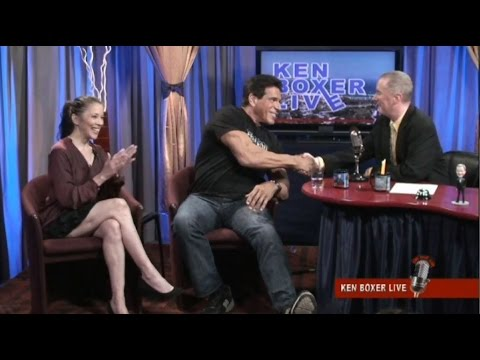 """""""Ken Boxer Live,"""" Lou Ferrigno, """"The Incredible Hulk,"""" is Guest, with Co-Host Tai Babilonia"""