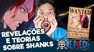 ONE PIECE | Shanks, o Detentor da Mais Alta Recompensa