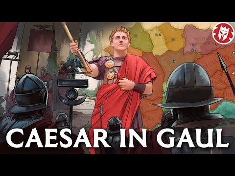 Caesar in Gaul - Roman History DOCUMENTARY