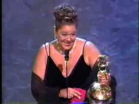 Camryn Manheim wins 1998 Emmy Award for Supporting Actress in a Drama Series