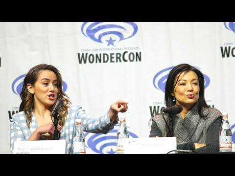 Agents of S.H.I.E.L.D. - Complete Wondercon Panel 2018 - Chloe Bennet and Ming-Na Wen