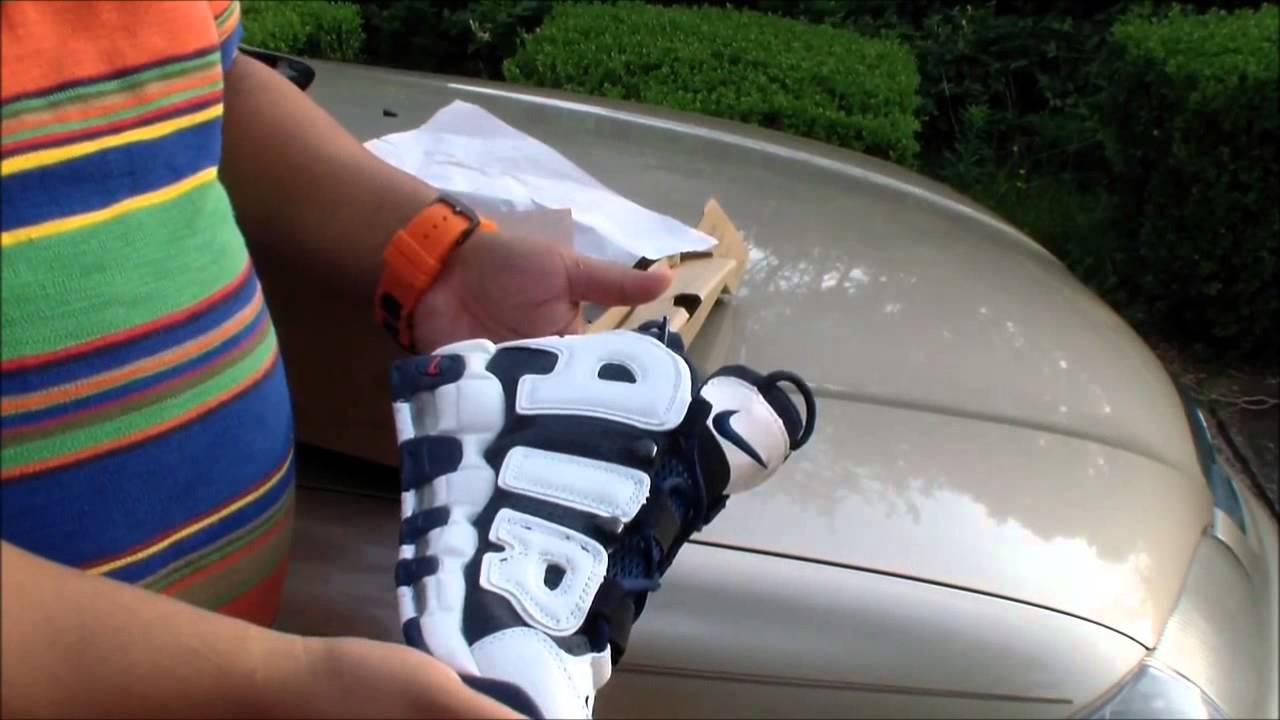 Nike Air Total Max Uptempo White Blue Nike Dunk Low White