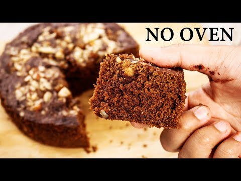Chocolate Biscuit Cake -3 Ingredient Eggless No Oven Bake Recipe- CookingShooking
