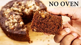 Chocolate Biscuit Cake    3 Ingredient Eggless No Oven Bake Recipe  Cookingshooking