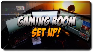 GAMING ROOM SETUP UP VIDEO!!!!!!!!!!!!!!!!!!!!!