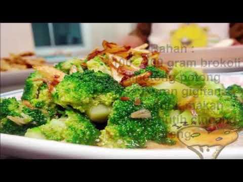 Resep Brokoli Kukus dengan Bawang Goreng Untuk Mengobati Kanker Serviks