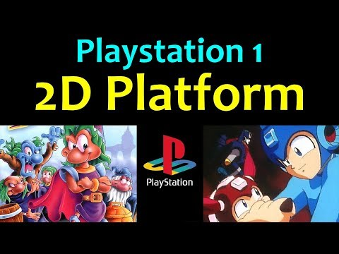 10 Awesome PS1 2D Platform Games ... (Gameplay)
