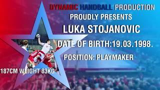 Best of Luka Stojanovic - Playmaker - EHF Euro 2016 M18 Croatia