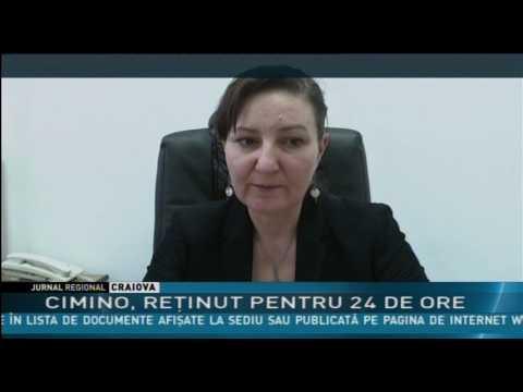 CIMINO, REŢINUT PENTRU 24 DE ORE