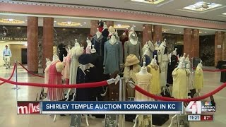 Shirley Temple memorabilia up for auction in KC