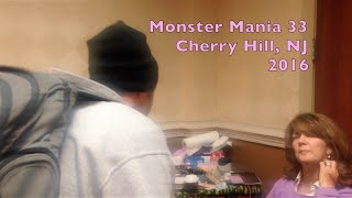Monster Mania 33 convention Cherry Hill, NJ 2016