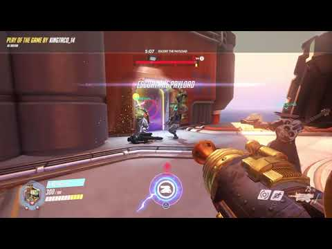 Overwatch:Bastion Charge Achievement (Credit To RushEffection)