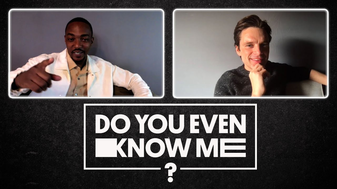 Do Anthony Mackie And Sebastian Stan REALLY Know Each Other?   Do You Even Know Me?   UNILAD