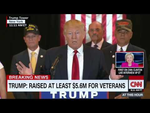 Tracking Trump's Promises: Is he donating his presidential salary?
