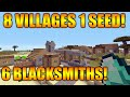 ★Minecraft Xbox 360/PS3 TU31 Seed - 8 Villages, 6 Blacksmiths, 2 Desert Temples, 1 Surface Spawner★