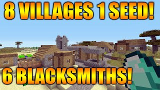 Repeat youtube video ★Minecraft Xbox 360/PS3 TU31 Seed - 8 Villages, 6 Blacksmiths, 2 Desert Temples, 1 Surface Spawner★