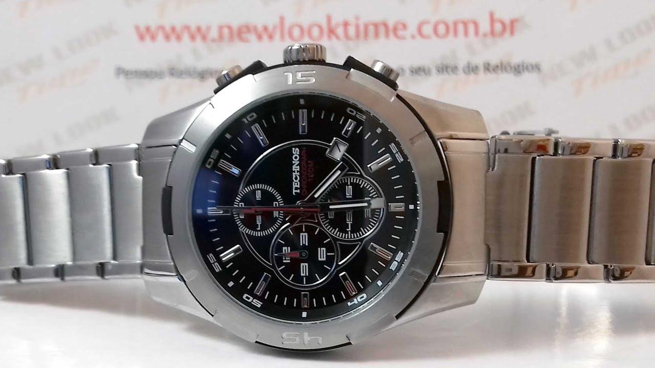 6094b8e73b7 RELÓGIO TECHNOS SKYMASTER OS10CJ 1P - New Look Time Relógios ...