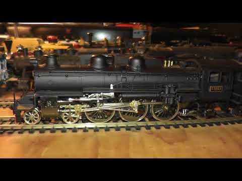 HO Brass Tenshodo Adachi JNR D51 Japanese National Railways Japan Runs Well Rare