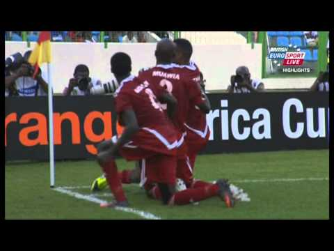 African Nations Cup Sudan 2012.  2 : 2 Angola [ALL GOALS]