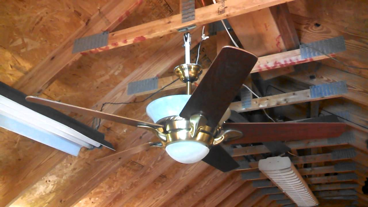Casablanca Bel Air Halo Ceiling Fan With Intelitouch