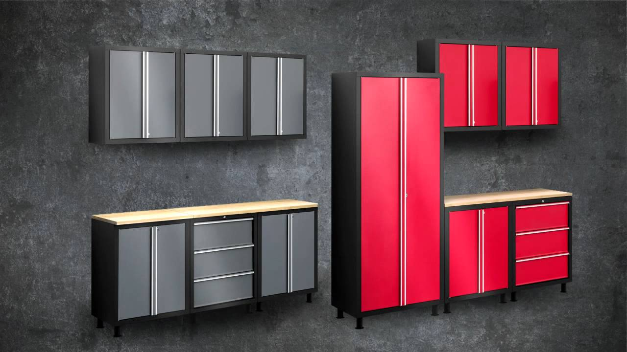 Garage Cabinets At Costco Newage Products 6 Pc Professional Series Metal Garage Storage Cabinets