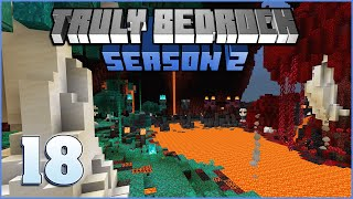 Lava n Gold | Truly Bedrock Season 2 Episode 18 | Minecraft Bedrock Edition