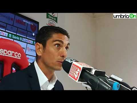 Perugia-Frosinone 1-0, Longo: «Decisivi errori arbitrali»